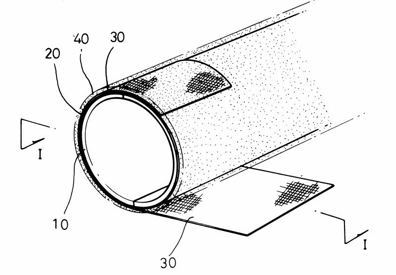 직물을 이용한 유리섬유강화플라스틱 성형품의 표면처리방법(FRP Surface Treating Process For a fabric)