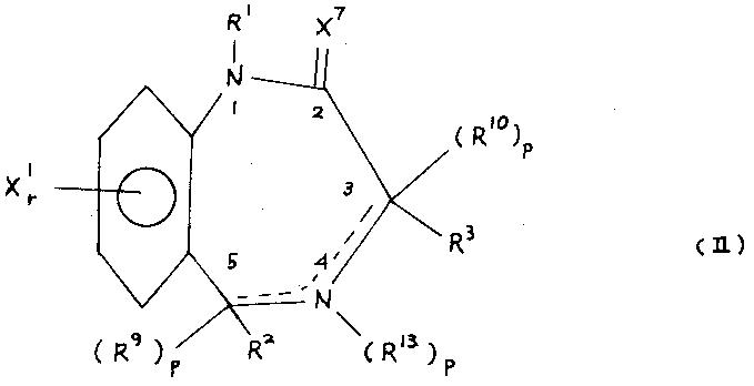벤조디아제핀동족체(BENZODIAZEPINE ANALOGS)