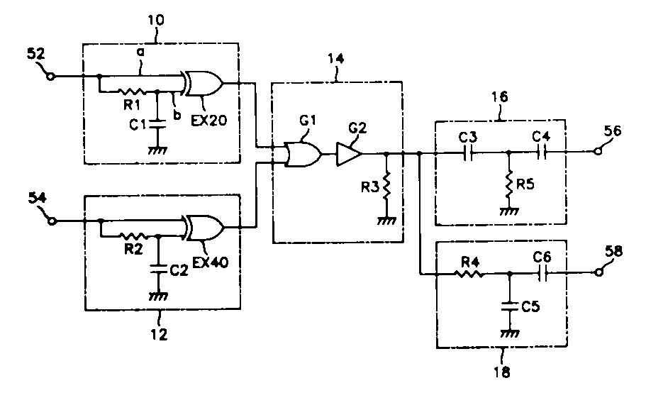 모니터의다형태동기신호입력회로(SYNC-SIGNAL INPUT CIRCUIT OF MONITOR)
